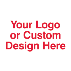Custom company logo sticker