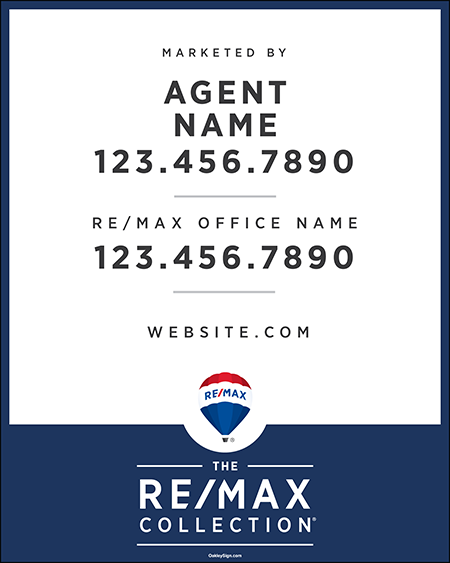 The RE/MAX Collection Sign Panels